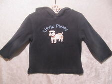 """Gymboree """"Pirate Adventure"""" One Eyed Spotted Dog Navy Blue Hooded Top, 18-24 mos"""