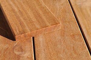 Cumaru Terrassendiele glatt/glatt 21x145mm div. Längen Premium KD 18% (12,95€/m)