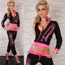 Sexy Redial Womens  Hoodie Ladies Tracksuit Jogging Set Size М L