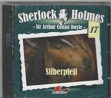 Sherlock Holmes 17 - SILBERPFEIL CD Hörspiel Maritim Alte Fälle Volker Brandt