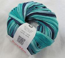 40% OFF! 50g Katia TAHITI BEACH Colorful Spring Summer Cotton Ribbon Yarn #300