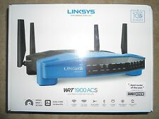 Linksys WRT1900ACS Open Source 1.6GHz DualBand Smart WiFi AC1900 Wireless Router