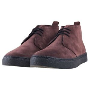 Fred Perry Hawley chocolate suede boots (Size 8) BRAND NEW BOXED Bargain price!!