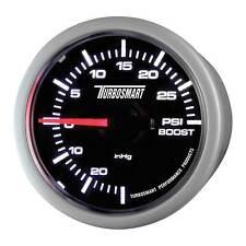 Turbosmart Turbo Boost coche Calibre - 52mm - 0-30 Psi-Esfera Negra face/white