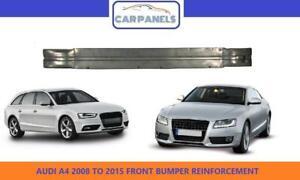 AUDI A4 A5 FRONT BUMPER REINFORCEMENT 2008 - 2015 CARRIER CRASH BAR 8K0807113B