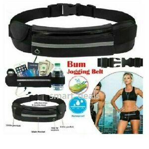 Unisex Sports Running Jogging Waist Travel Bum Bag Phone Mobile Money Belt Keys