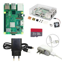 Raspberry pi 3 model B plus with Accessories 1.4GHz quad-core 64 bit processor