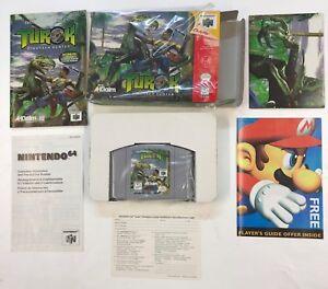 Nintendo 64 TUROK DINOSAUR HUNTER N64 USA