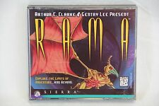 Rama PC Video Game - Sierra - CD ROM Jewel Case with insert and Disks - Clean