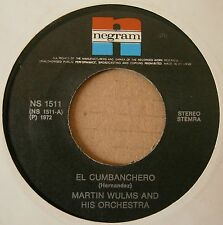 "7"" Martin Wulms And His Orchestra El Cumbanchero Rumba Afrika Holland Rare 1972"