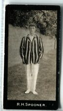More details for tobacco card, f & j smith, cricketers, cricket, 1st series, 1912,r h spooner,#48