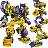 IN STOCK Transformation NBK Devastator BOY Toy Oversize Action Figure 6 in 1