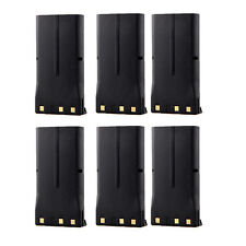 6X 1800mAh Knb-21 Knb-21N Battery for Kenwood Tk-190 Tk-380 Tk-480 Tk-481 Tk5400
