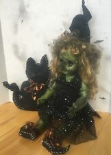 Zombie Witch Doll OOAK Reborn Scary Halloween Prop 25""