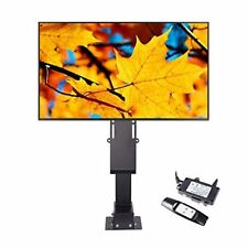 Pinty Heavy Duty Motorized TV Lift Stand with Remote Control for Big Panel