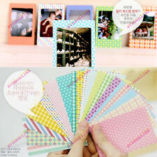 40PCS Polaroid FujiFilm Instax Film Skins Stickers Scrapbook Photo Decoration UK