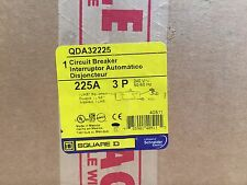 BRAND NEW SquareD-Type QDA  QDA32225  3Pole 225Amps 240Volt I-Line FREE Shipping