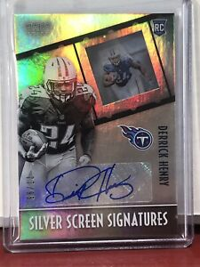 2016 Panini Gala DERRICK HENRY Rookie Auto /99 Silver Screen Titans Bama Star Rc