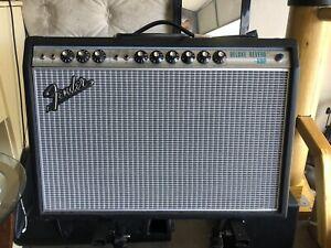 Fender '68 Custom Deluxe Reverb Reissue Tube Combo Amp W/ Amp Cover And FS
