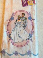 Disney Princess Hand Towel Kitchen 100% Cotton Cinderella Prince Charming