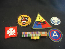 Old Vtg Colorful Military WW2 Tank Destroyer Panther With Bars Patch LOT