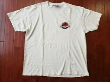 Vintage LOST WORLD Jurassic Park Late 1990s White T-Shirt Extra Large RARE
