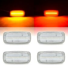 Clear Front Rear LED Side Marker Lenses Lights For 2010-2018 Dodge Ram 2500 3500