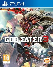 Dios Eater 3 PS4 PlayStation 4 Video Juego Perfecto estado UK release