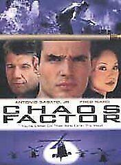 Chaos Factor DVD 2000 Antonio Sabato Jr, Fred Ward Drama Thriller Movie