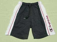 Vintage CHAMPION Products Reverse Weave Black-White Gym Shorts – Youth Boys Med