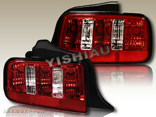 05 06 07 08 09 FORD MUSTANG GT V6 ALTEZZA TAIL LIGHTS RED
