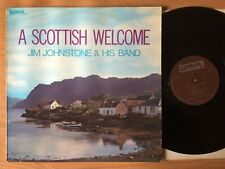 Jim Johnstone And His Band – A Scottish Welcome~ Made in UK