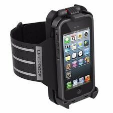 New OEM Lifeproof Arm Band For iPhone 5 Case Not Included - Black
