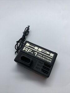 HPI RF-1 R/C Receiver. (2 Channel, 27MHz, AM). Suits Various Brands