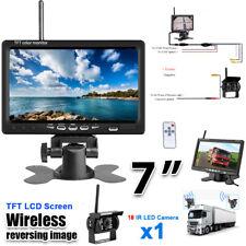 7inch HD LCD TFT Car Reverse Rear View Backup Night vision Camera Monitor Screen