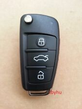 3 Buttons Remote Replacement Key Fob Case & Blade fits AUDI A3 A4 A6 Q7 TT