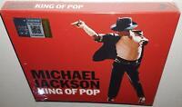 MICHAEL JACKSON KING OF POP (2008) BRAND NEW SEALED HONG KONG 2CD EDITION