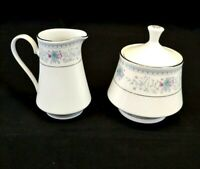 CROWN MING Harmony Fine China, Creamer and Sugar
