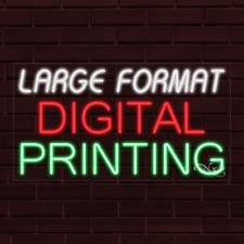New Large Format Digital Printing 37x20x1 Inch Led Flex Indoor Sign 31739