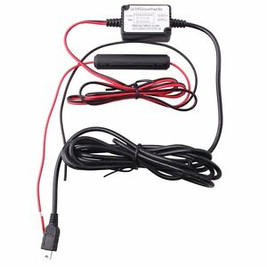 Car Dash Camera Vehicle Hard Wire Kit - Mini USB Compatible with G1w / G1w-C /