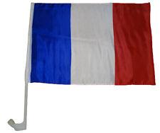 Drapeau pour auto France 30 x 40 cm voiture Fanion fenêtre-drapeau