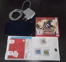 New Nintendo 3DS XL + Pokemon Omega Rubin Paper Mario Tennis Lego City und mehr
