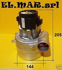 Motore Tristadio Tangenziale 1400 W aspiratore industriale aspirapolvere bidone