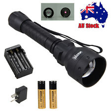 OSRAM Long Range Infrared IR 850nm LED Hunting Light Night Vision Torch 18650 AU