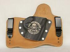 FoxX Leather & Kydex IWB Hybrid Holster Beretta PX4sc Horse & 2nd Amendment RH