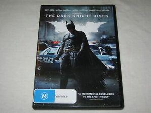 Batman - The Dark Knight Rises - VGC - Region 4 - DVD