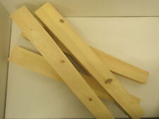 "Set of 4 Solid Pine 4"" Square Tapered Table Legs WT003"