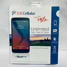 "U.S. Cellular ZTE Blade Max 3 6"" Full HD Smartphone Prepaid - Black | Z986DL"