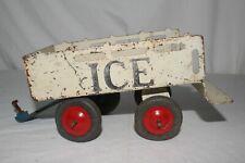 "1930's Marx Toys ""Ice"" Pressed Steel Trailer, Original Lot #1"