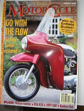 The Classic Motorcycle August Magazines in English